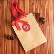 Lilclover Christmas Paper Bag