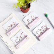 Cat Shapes Deco Paper Clip 2pc