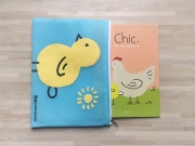 Peekmybook Chic Story and Activity Book