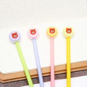 Teddy Bear Macaron Gel Ink Pen