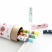 Cute Characters Pencil Cap Set