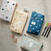 Japan Culture Canvas Pencil Case