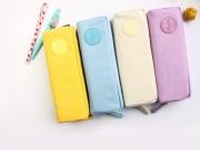 Macaron Canvas Pencil Case