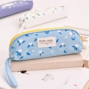 Natural Garden Canvas Pencil Case