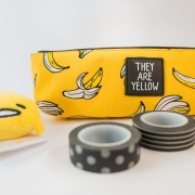 They Are Yellow Canvas Pencil Case