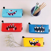 Cute Star Scary Monster Pencil Case