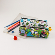 Cute Star Alien Holiday Pencil Case