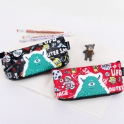 Cute Star Outer Space Pencil Case