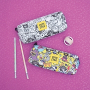Cute Star Rock and Roll Pencil Case