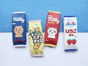 Milky Candy Flat Pencil Case