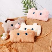 Fuzzy Baby Bunny Fluffy Pencil Case