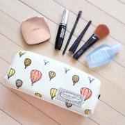 Air Balloon Leather Pencil Case