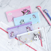 Dream Like a Unicorn Plastic Pencil Case