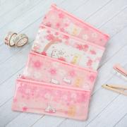 Sakura Bunny Plastic Pencil Case