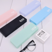 Simple Style Plastic Pencil Case