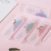The Floral Planets Plastic Pencil Case