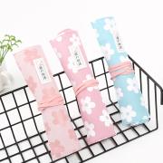 Sakura Blossom Roll Up Pencil Case