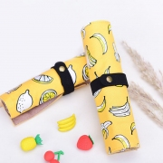 They Are Yellow Roll Up Pencil Case
