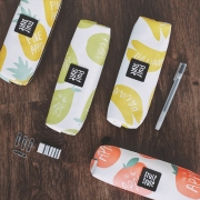 Sweet Fruit Style Pencil Case White Version