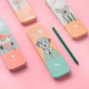 Animal Impression Tin Pencil Case