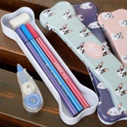Lovely Puppy Tin Pencil Case