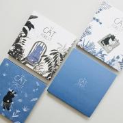 The Cat Forest Square Photo Album