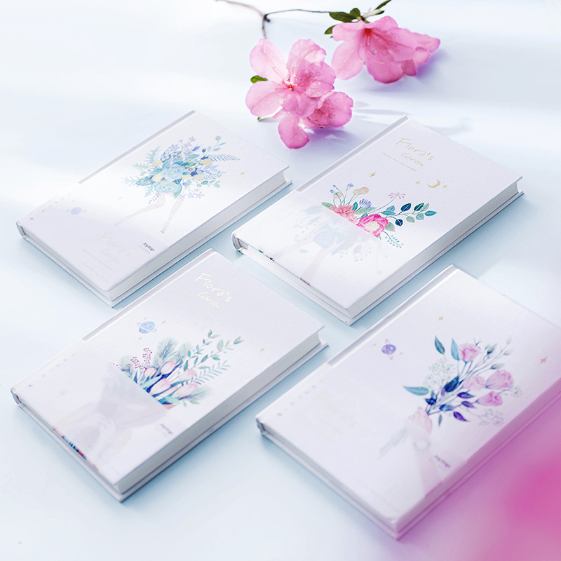 photograph regarding Hardcover Daily Planner named Floras Back garden Hardcover Day-to-day Planner - panmomo - Belanja