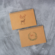 Lovely Deer Weekly Monthly Planner