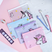 Dream Like a Unicorn Plastic Folder A5
