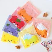 Fruity Bear Resealable Mini Plastic Pouch