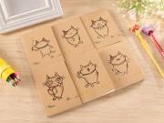 Neko Cat Plain Pocket Notes