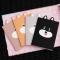 Frisky Shiba Inu Plain Pocket Notes Set