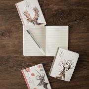 Deer Forest Ruled Pocket Notes