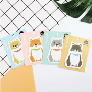 Akita Dog Sticky Notes Post-its