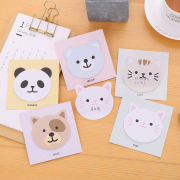 Animal Smiley Sticky Notes Post-its