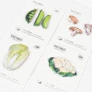Fresh Veggies Sticky Notes Post-its