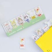 Lovely Rabbit Sticky Notes Post-its