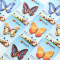 Butterfly Species Sticky Notes Post-its