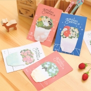 Garden Memo-it Sticky Notes Post-its