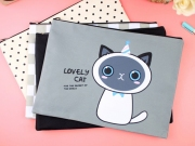 Lovely Cat Canvas Pouch