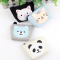 Cat Bear Panda Canvas Coin Pouch