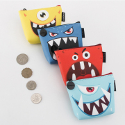 Cute Star Scary Monster Coin Pouch