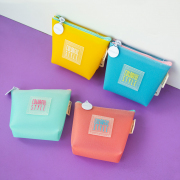 Colorful Style Rubber Coin Pouch
