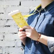 Fruit Pattern Plastic Handphone Pouch