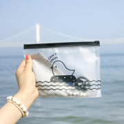 Bird Cant Swim Small Zipper Pouch