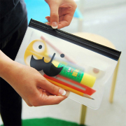 Smiley Mustache Small Zipper Pouch