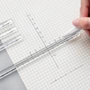 Triangular Prism Clear Ruler Stick 15cm