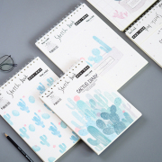 Cactus Diary Sketchbook B5