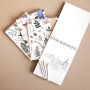 Simple Joy Nature Sketch Book Large