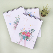 Floras Garden Spiral Sketchbook A4